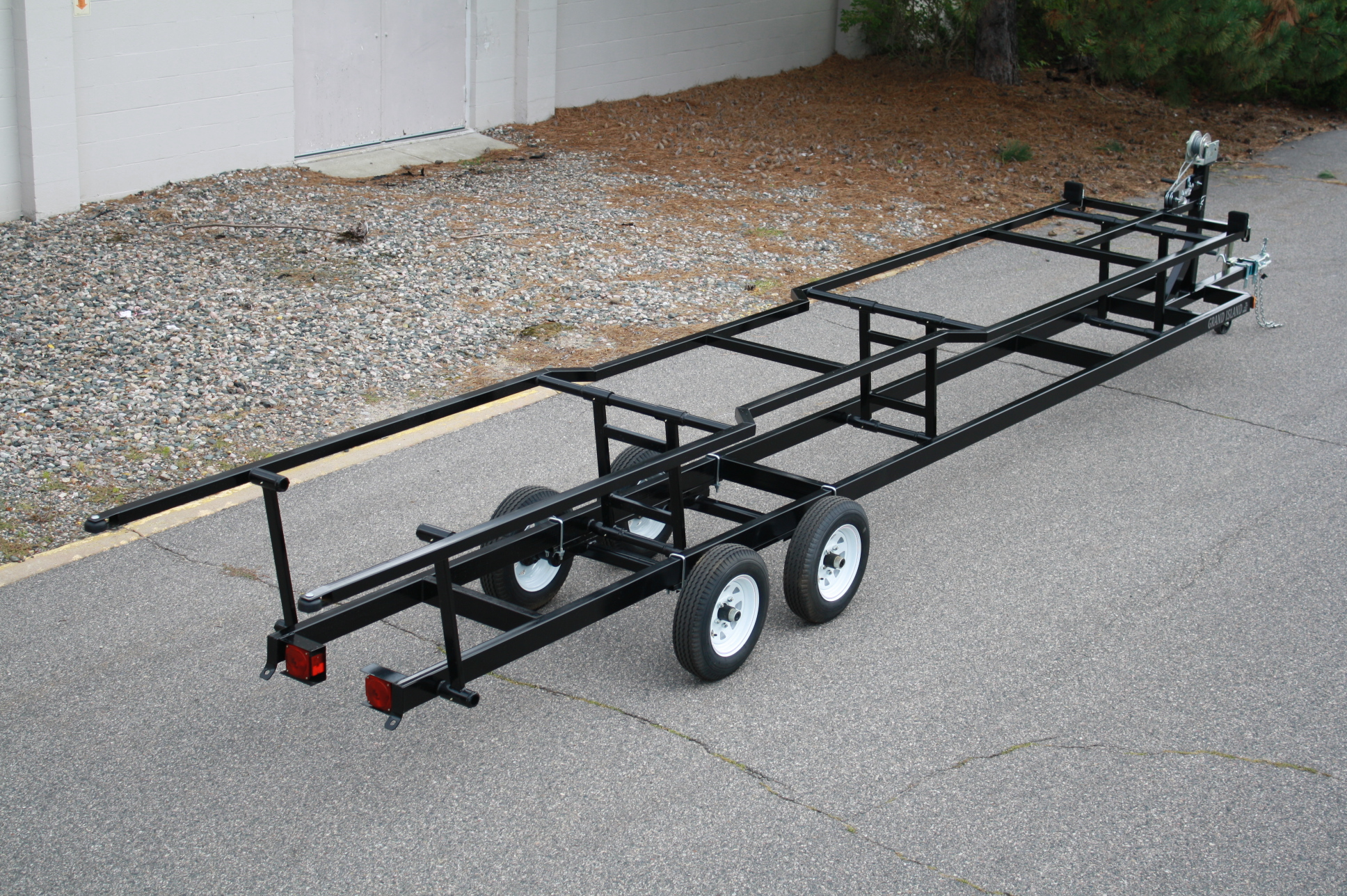 boat trailer single or dual axle double clipsal light switches wiring diagram 22ft to 25ft scissor t andm marine