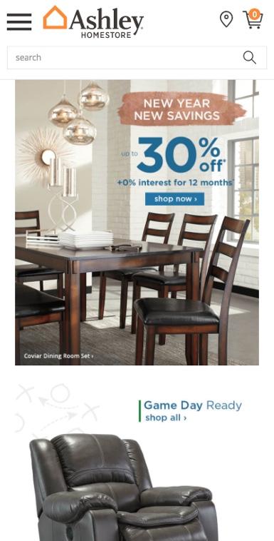 Ashley Furniture Pay My Bill : ashley, furniture, Ashley, Furniture, Store, Mobile, Online, Marketing