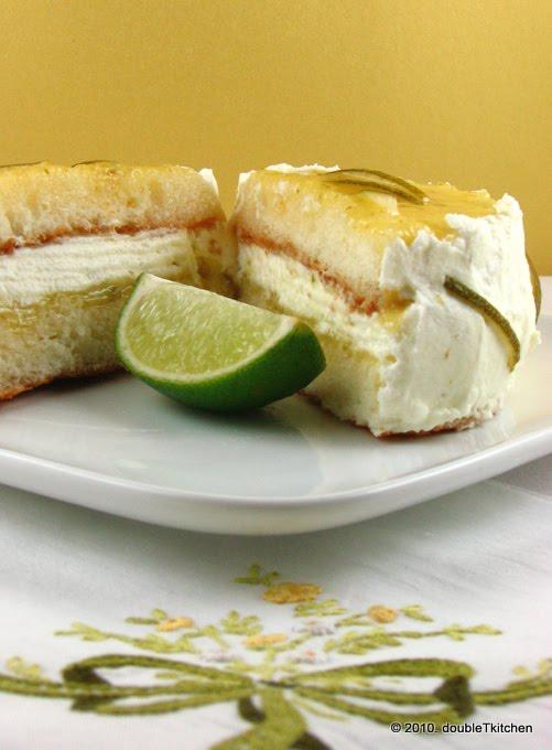 Torta s limeta namazom