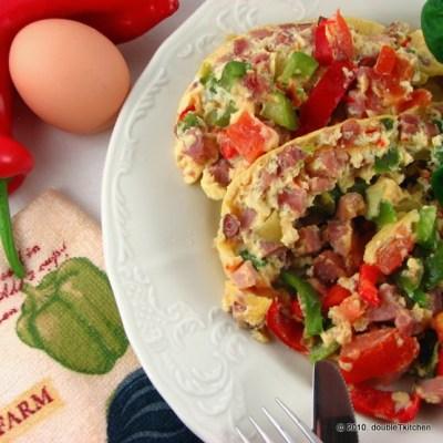 Kuhani (light) omlet po Dunji