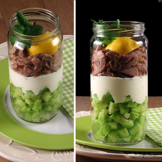 Salata u staklenci
