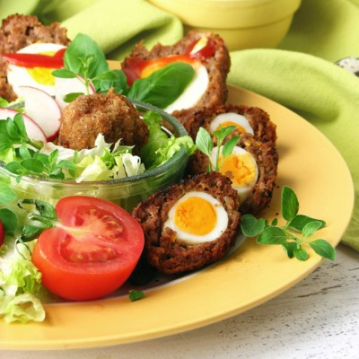 Scotch eggs kao mesne pisanice