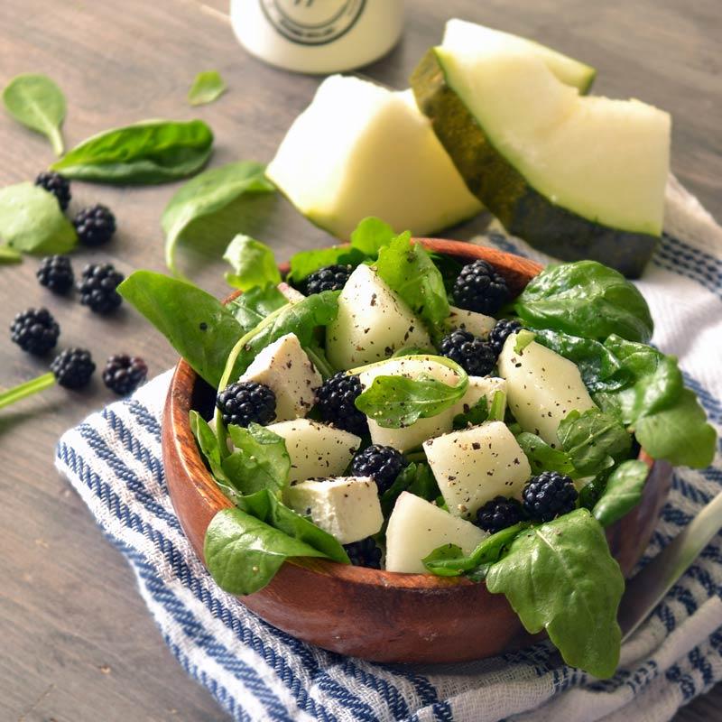 Salata od slatke dinje i rikole