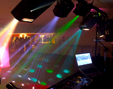 CFM EAST ANGLIA PARTY DISCO LIGHTING HIRE IN CAMBRIDGE