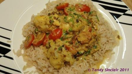 Crayfish Curry With Poppy Seeds