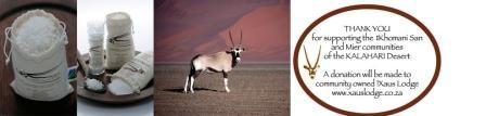 Oryx Desert Salt
