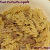 Recipe For Boudin Blanc And Mushroom Pasta