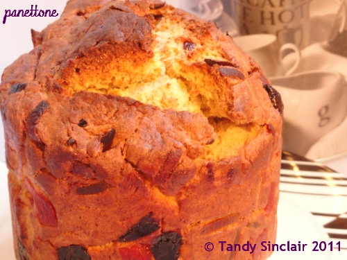 Panettone in answer to Friday's Food Quiz Number 20