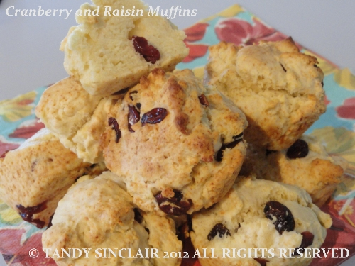 """""""Cranberry and Raisin Muffins"""""""