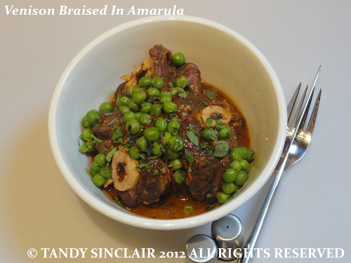 Venison Braised In Amarula