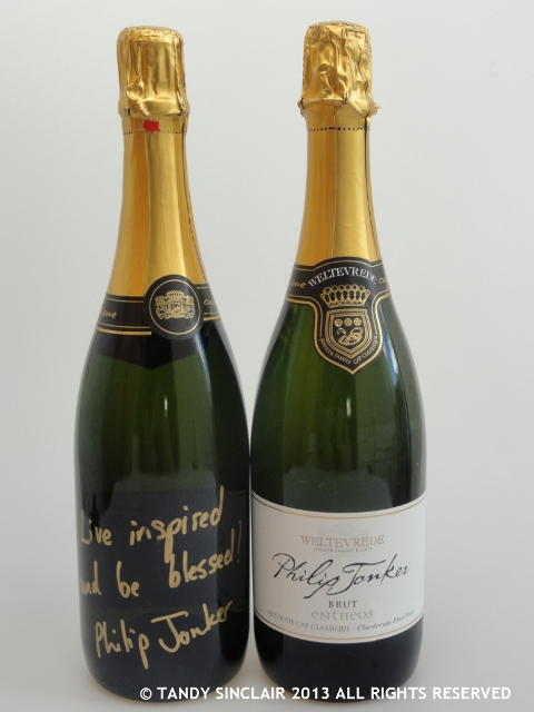 Champagne Bottled By Dave and Me