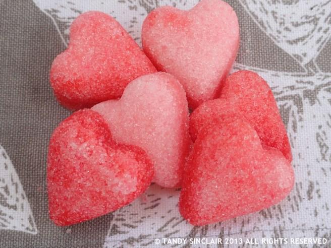 In My Kitchen March 2013 Sugar Hearts