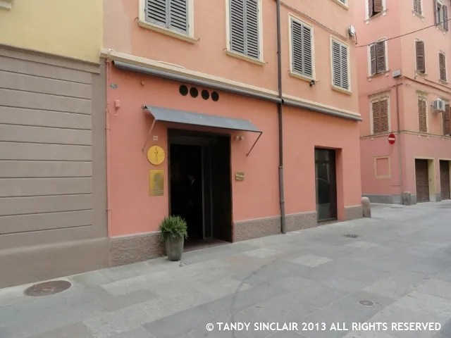 The Entrance To Osteria Francescana