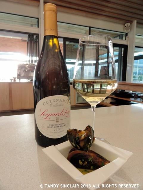 Chenin Blanc Grenache Blanc Served With West Coast Mussels