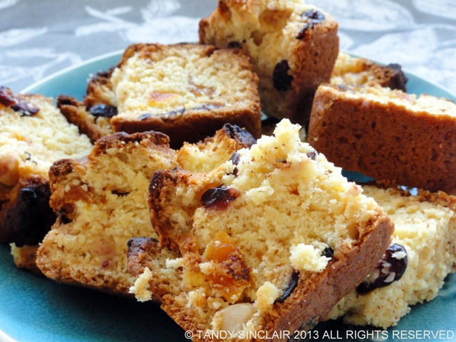 Coconut And Cranberry Rusks