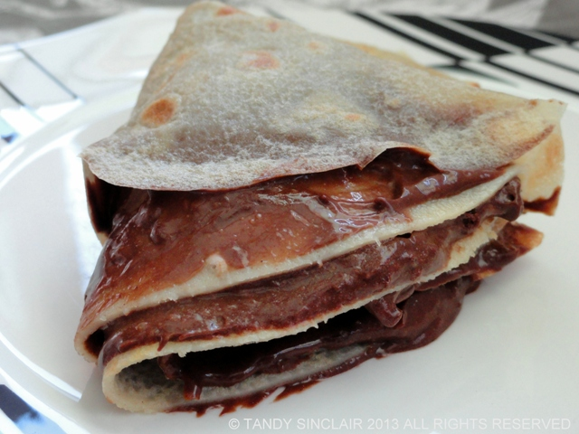 Crêpes Filled With An Orange-Infused Chocolate Mousse from Jackie Cameron Cooks At Home