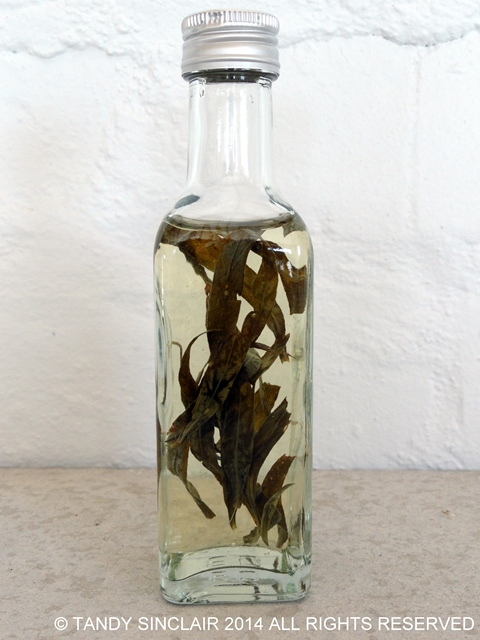 Tarragon Vinegar in answer to Friday's Food Quiz Number 26