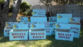 Please Donate! A Better Tomorrow Book Run