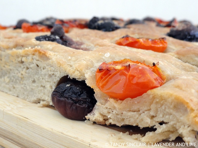 Olive And Tomato Sourdough Focaccia