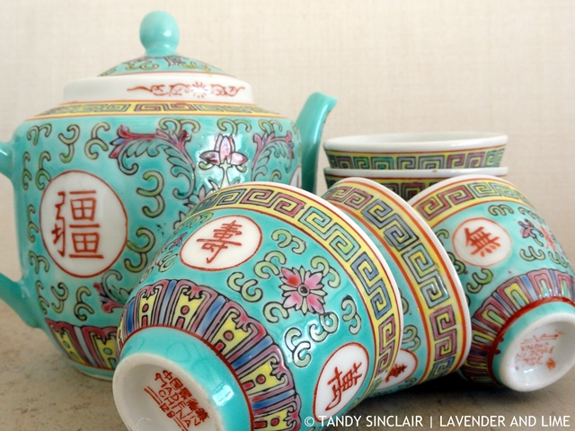"""Chinese Tea Set"""