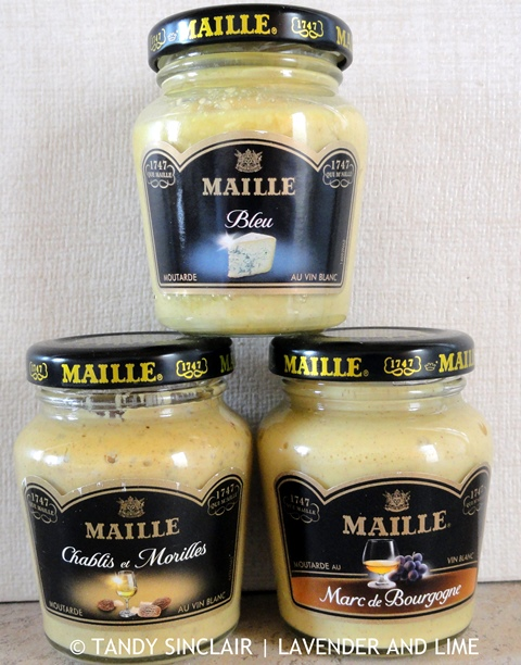 In My Kitchen June 2015 Maille Mustards