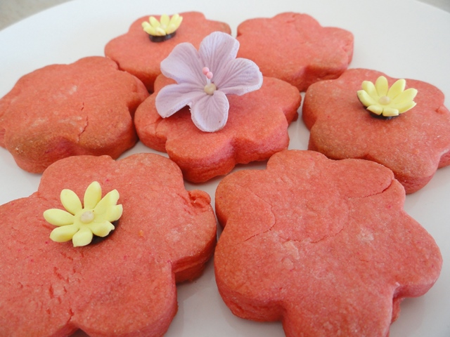 Rose Pink Biscuits