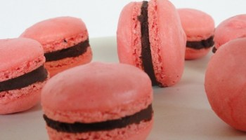 Macarons With Whipped Ganache Filling for the Macaron Challenge Round Up