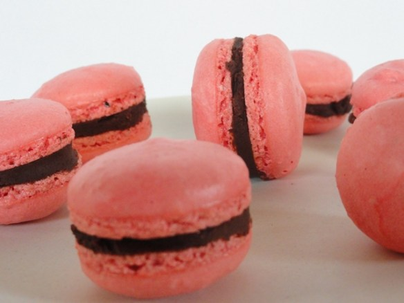 Macarons With Whipped Ganache Filling