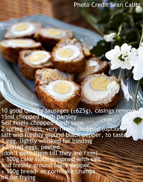Scotch Eggs - Extracted From Perfect Parties, Janet Kohler (Struik Lifestyle)
