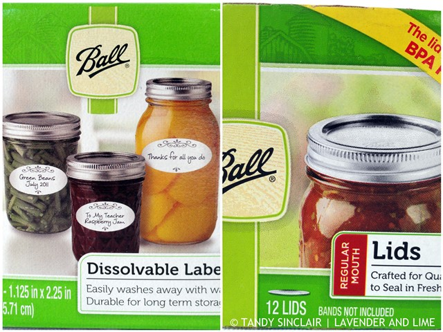 Ball® Labels And Lids