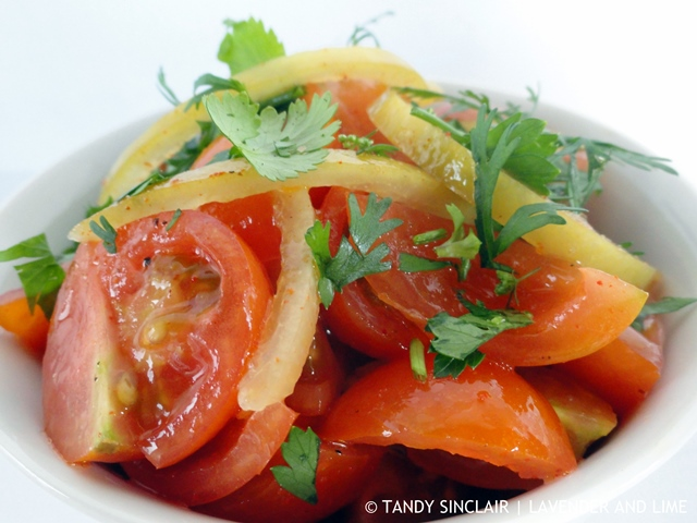 Moroccan Tomato Salad TV Cooking Shows