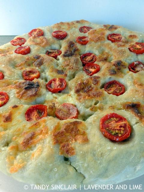 Mozzarella And Tomato Focaccia