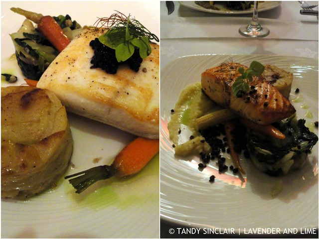 Our Main Courses At The Port Charlotte Hotel