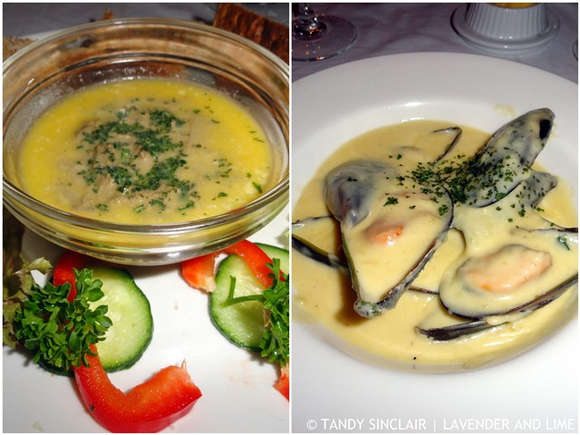 Our Starters At Old Austria Restaurant
