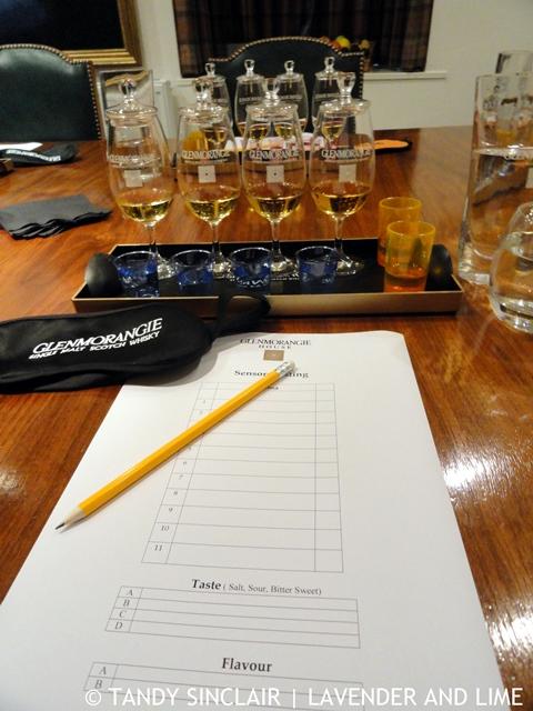 Glenmorangie Whisky Weekend Sensory Tasting