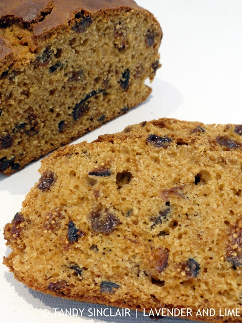 Dried Fruit Tea Cake
