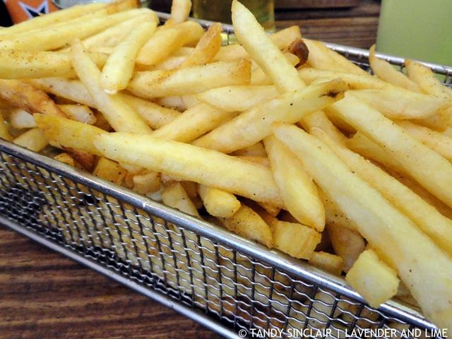 Shoestring Fries At RocoMamas
