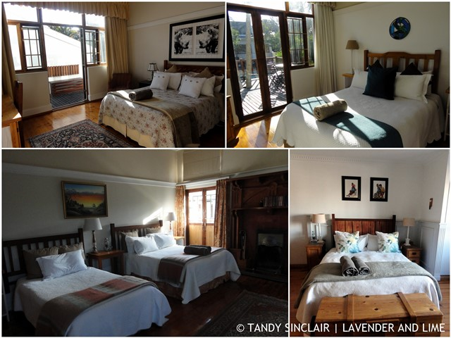 A Selection Of The Rooms At King Georges Guesthouse