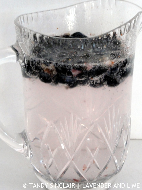 Blueberry-Infused G&T