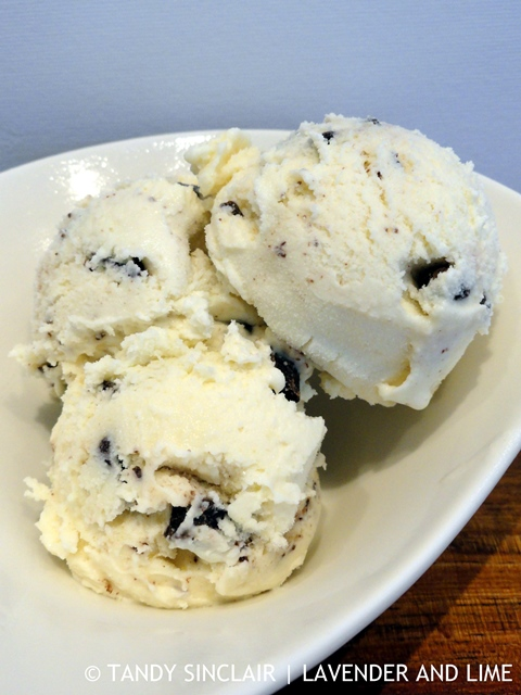 Yuzu Choc Chip Ice Cream