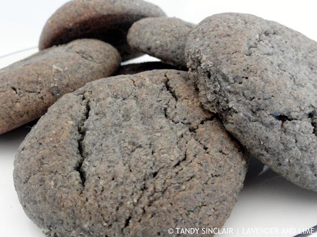 Black Sesame Cookies A Riff On Halva Cookies