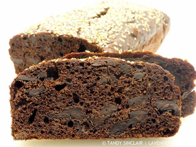 Chocolate, Tahini And Banana Bread