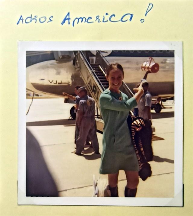 Adios America!