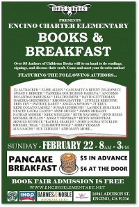 Books and Breakfast at Encino Charter Elementary