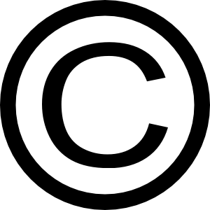 Copyright page - copyright notice - copyright symblo - catalog in publication data