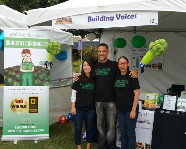 Building Voices at the 2015 Orange County Children's Book Festival