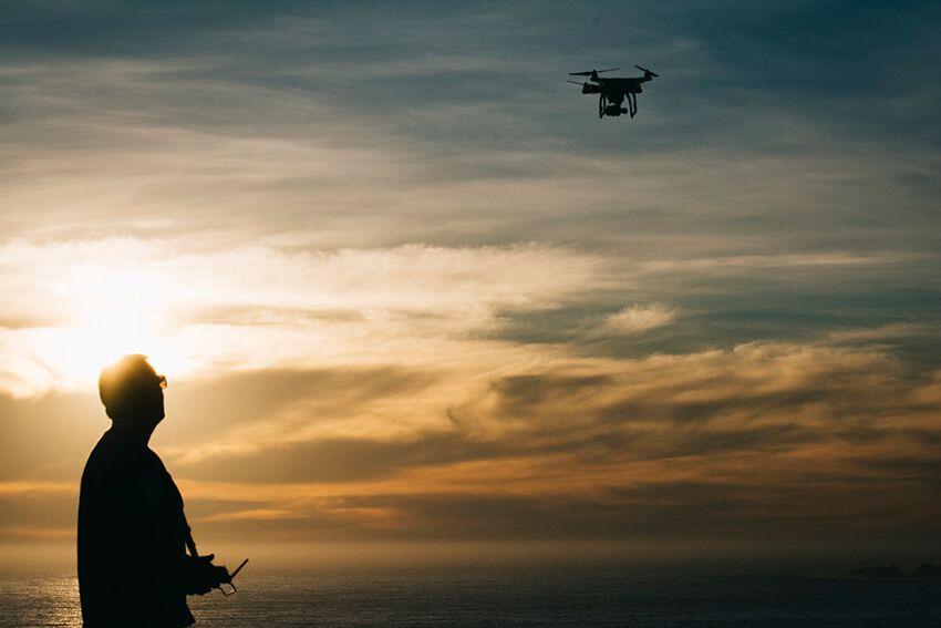 fotografia drones