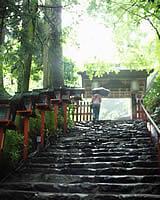 京都 貴船神社 階段
