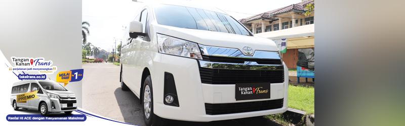 Sewa Hiace Jakarta Dengan Mobil Terbaru