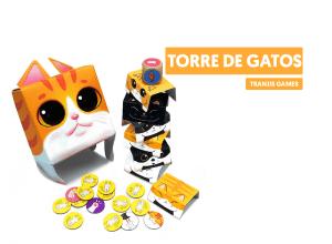 Torre de gatos - juego de mesa